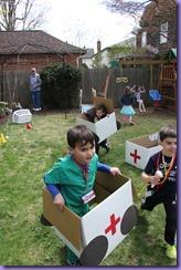 6 Birthday Munchkin Ambulance End Play